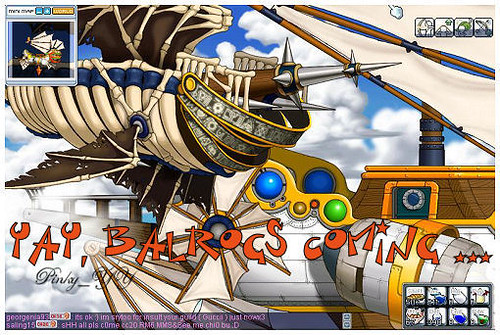 Balrog Ship: Balrogs Coming...