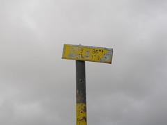 Sign (Klearchos Kapoutsis) Tags: sign bulgaria rila  rilalakes   rilanationalpark sevenrilalakes   thefishlake