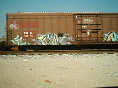 METAL FREIGHT (BOBROSS75) Tags: railroad railcar railfan southernpacific csx rxr monikers benching hobomonikers hobotags hobograff paintedtrainstraingraffitiunionpacificpaintedsteelboxcarsrailboxbnsf reeferswheelsofsteelrailartgoldenwest