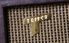 "Teisco amp ""T"" badge (sano12) Tags: teisco"