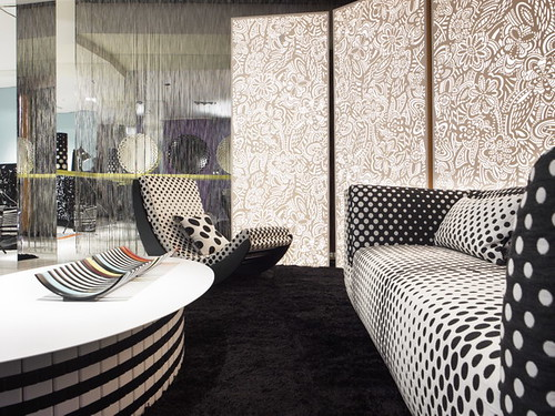 corian loves missoni living room