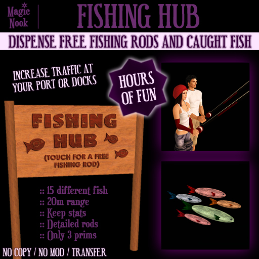 * Magic Nook * Fishing Hub