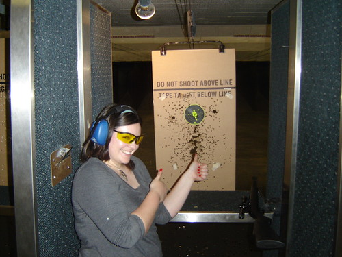 Meagan on the Range