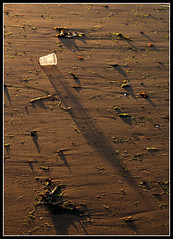 Shadows at the end of the day (ccgd) Tags: sea beach night evening scotland highlands cromarty sutor gloaming