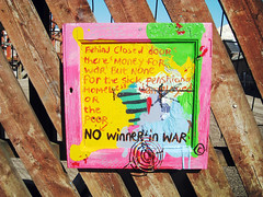 No winners in War, Slater Street, Liverpool (new folder) Tags: streetart art liverpool painting war political homeless poor protest antiwar winner statement homelessness slaterst nowinners