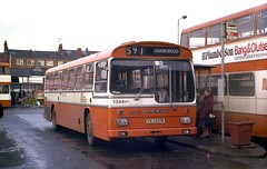 Metro Scania - Leigh Bus station. (Renown) Tags: buses leigh coaches scania mcw gmpte selnec greatermanchestertransport gmbuses metroscania txj517k leighbusstation