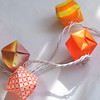 Yellow Orange Origami Lights
