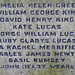 All Saints Church Nazeing civilian memorial names