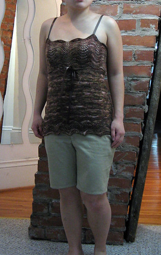 Silky Negligee from Sensual Knits & Simplicity 3850