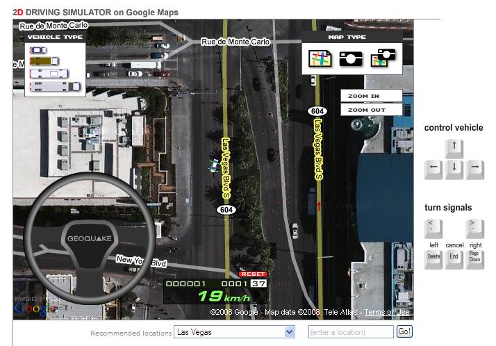 GoogleDrivingSimulator