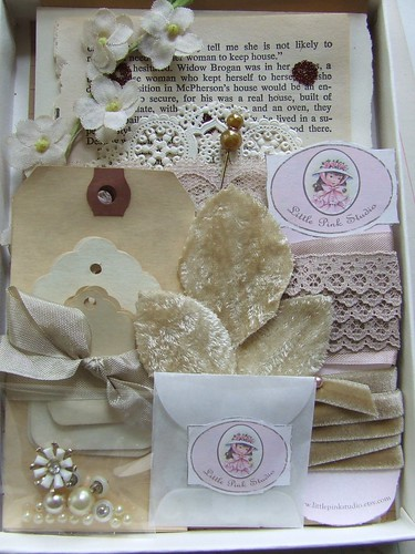*Tea Stained* Embellishment box