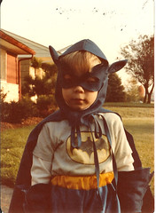 Bruce Wayne has nothing on this kid. (Banjo Brown) Tags: halloween childhood costume brandon batman 1981 elmstreet