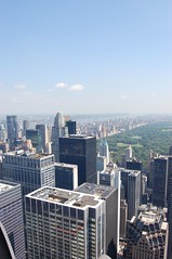 New York from Rockefeller Centre (bekra) Tags: nyc newyorkcity usa views rockefellercentre therock