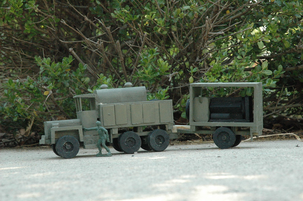 Little Green Army Men Corps of Engineers Vehicles 007