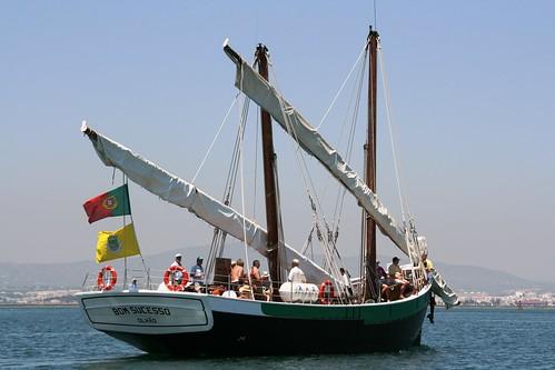 Caíque - tradicional fishing boat