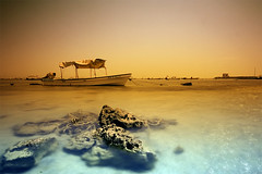 The Grad Scape (Khaled A.K) Tags: photography boat rocks filter sa jeddah reef saudiarabia khaled tobacco ksa sigma1020 aplusphoto goldenvisions