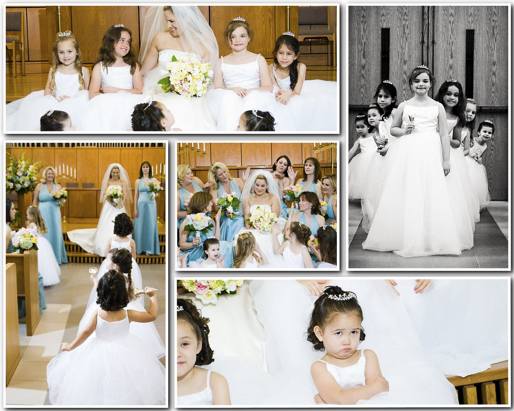 Anne marie flower girls collage 2