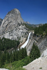 Liberty Cap and Nevada Falls