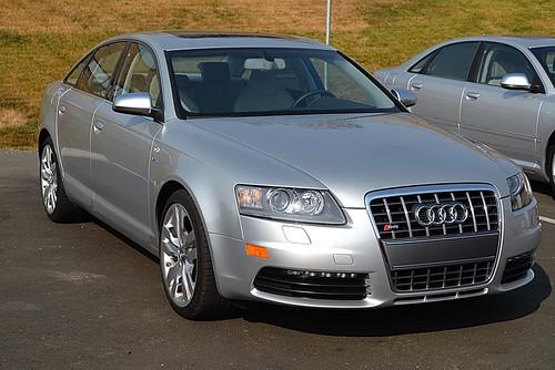 Audi S6 2002. 2008 silver audi s6 c6