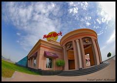 Hard Rock (Y.al7amad) Tags: sea beach rock cafe hard kuwait q8