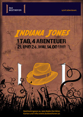 Plakat Indiana Jones