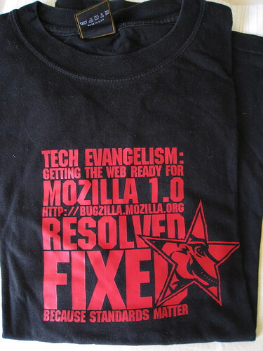 T-shirt for a European Evangelism contest early 2002