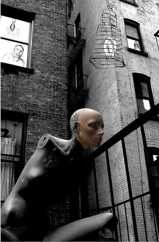 Dimlit NYC model