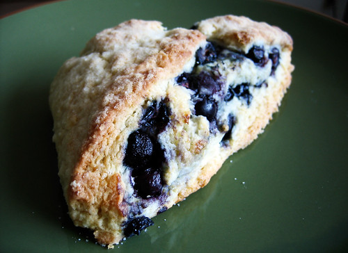 Snacking Outside The Box: Blueberry Almond Flour Scones