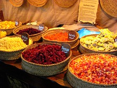 Dried fruit - Medieval fair (lanamorvai24) Tags: orange frutas colors fruit strawberry basket feria fair medieval colores greatshot dried kiwi ananas naranja fresas pia cesta sabores secas mezcla arandano colourartawards peachofashot porestaibriafora colorsinourworld