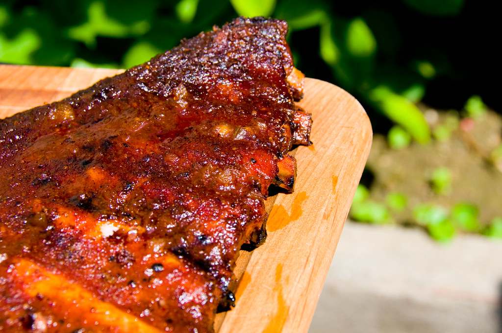 Pineapple-Braised Ribs with Honey-Garlic Tomato Glaze