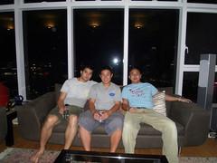Tim Johnny me 1 (beerboxerboy) Tags: hongkong sofa kowloon harbourside