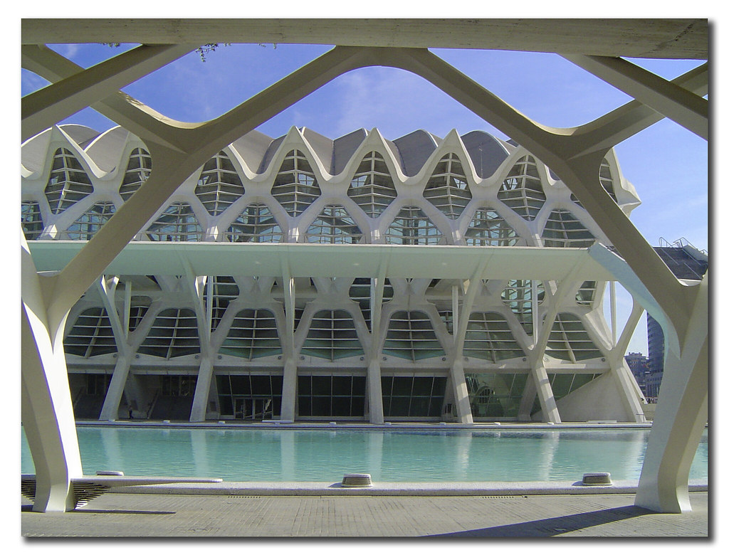 Museum of the Sciences Príncipe Felipe, City of the Arts and the Sciences, Valencia, Spain