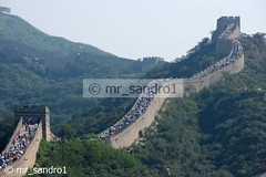 "China - Beijing ""The Great Wall"" (mr_sandro1) Tags: reportage china beijing travel vacation people 7 maravilhas wonders nikon asia tourism great wall mountain august 2007 d80 anticando beautiful photo travels homer odyssey absolutely perrrfect flickrlovers 1001 nights magic city"