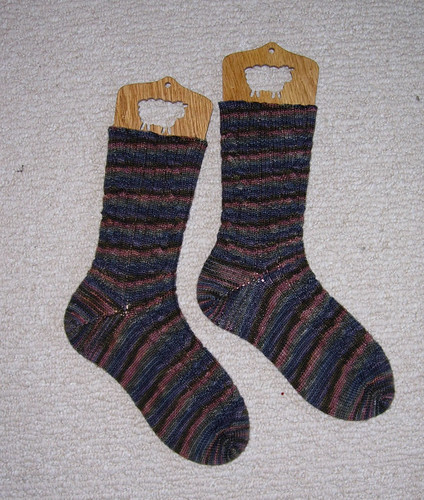 Boyfriend socks finished