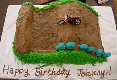 Dirt Bike Cake (amy_ashburn) Tags: birthday cake offroad dirtbike dirtbikecake dirtbikebirthday
