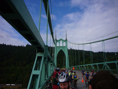 Atop St. Johns Bridge