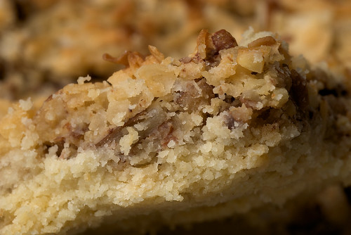 Coconut Pecan Shortbread Squares | Bake or Break