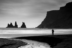 Still standing (Andri Elfarsson) Tags: pictures ocean desktop camera trip travel summer wallpaper vacation blackandwhite bw white holiday man black art apple nature rock canon dark landscape island mono blacksand iceland high highresolution rocks imac photographer darkness photos quality fineart north fine young large monochromatic full size resolution fullresolution 40 vs northern 2008 blackbeach siceland icelandic holyday andri 17mm reynisdrangar vikimyrdal freedesktop freewallpaper landscapephotographer theunforgettablepictures 1740canon elfarsson andrielfarsson wallpaperbw ljosmynd canon17mm40l goldenmasterpiece desktopbw desktopblackandwhite wallpaperblackandwhite