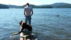 P1040947 (Ilia Goranov) Tags: camp lake water dam bulgaria    beglika    vassilkolarov  golyambeglik
