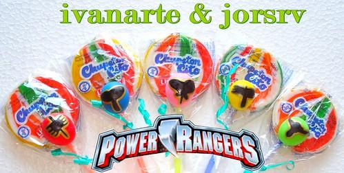 power rangers souvenirs - ivanarte.es.tl por ti.