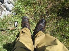 Wet waders (jevidal) Tags: montana flyfishing kootenairiver