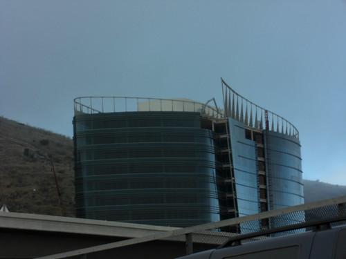 Interesting building under construction