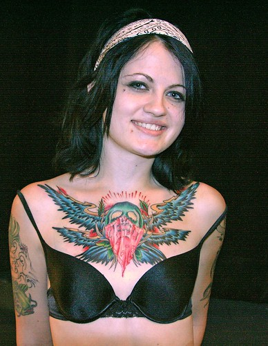 Breast Skull Tattoos with girls tattoos on breast art designs gallery