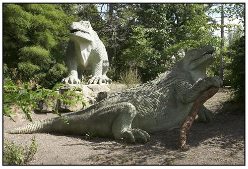 Resting Dinosaur