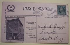 Vintage Postcard, Majane's Hotel, Atlantic City (riptheskull) Tags: vintage postcard ephemera collection vintagepostcard atlanticcity oldpostcard postcardcollection majaneshotel