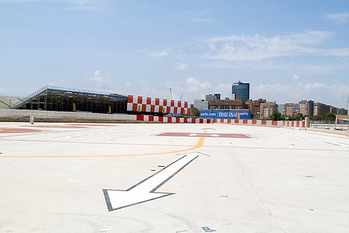 Formula1 Valencia Helicopter