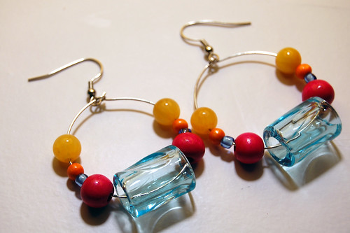 pencil grip earrings