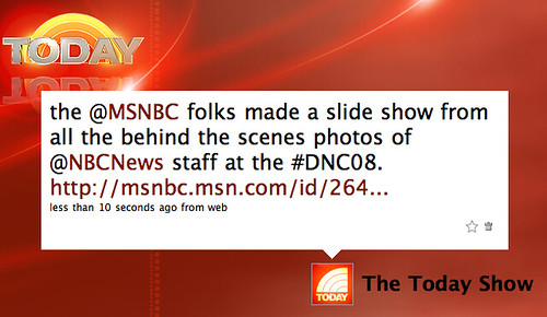 MSNBC at the DNC [pics]