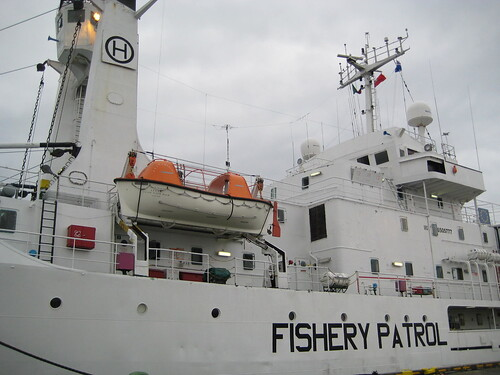 Reykjavik - huge boat