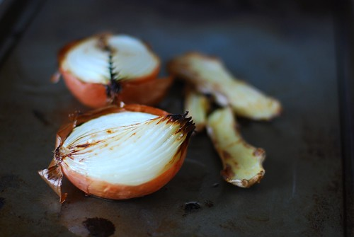 Onion gets so beautiful when charred.